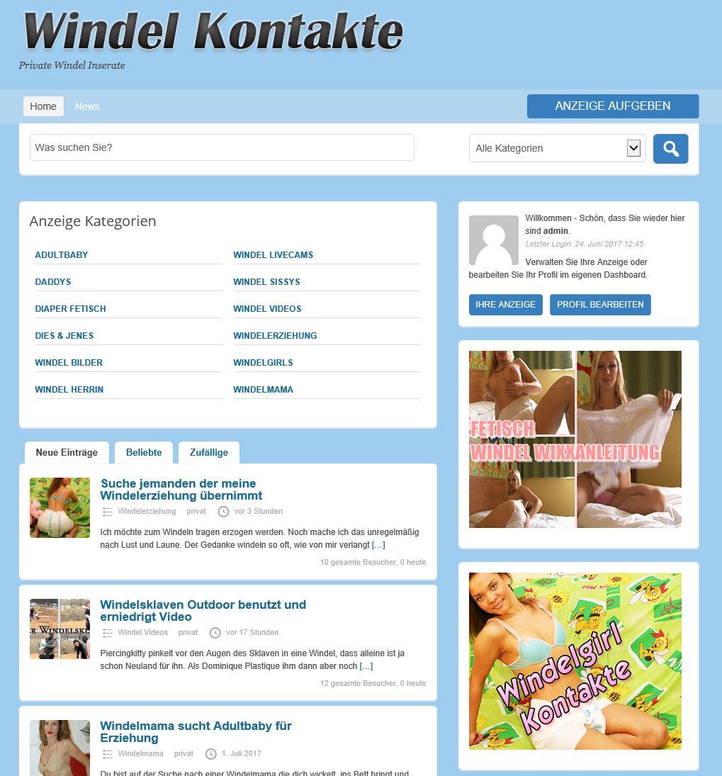Windel Inserate